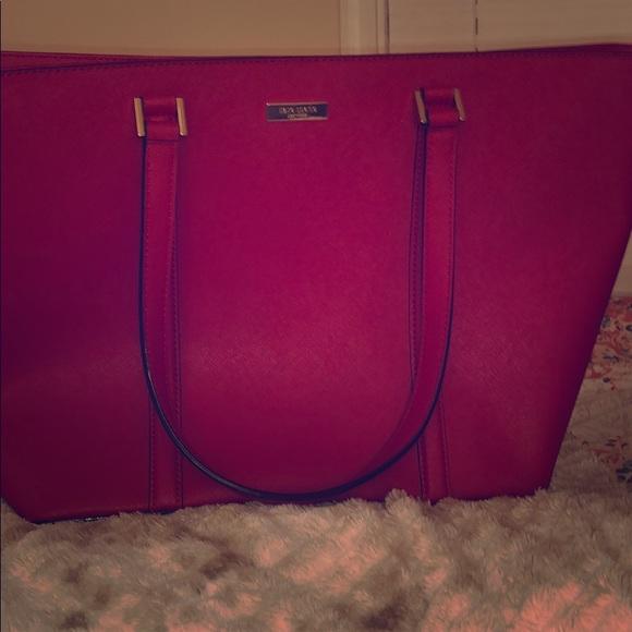 kate spade Handbags - Cherry Red Kate Spade Tote Bag